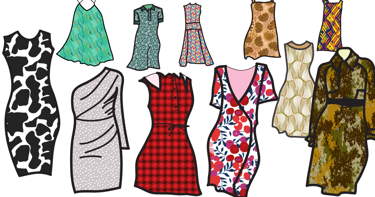 Various Types Of Clothing Patterns